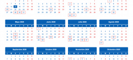 ¿Conoces el calendario fiscal para 2020?